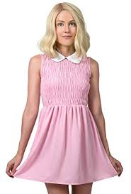 Pink Halloween Costumes Amazon Com Eleven Dress Stranger Things Halloween Costume Clothing