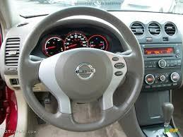 nissan altima hybrid 2009 2009 nissan altima hybrid blond steering wheel photo 46246234