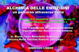 libreria esoterica cesenatico serata sul potere di trasformazione e liberazione delle emozini
