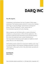 Announcement Of Company Name Change Letter Template Letterhead Templates Canva