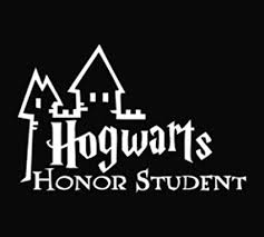 hogwarts alumni sticker hogwarts honor student decal vinyl sticker cars trucks