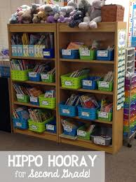organizing your classroom library hippo hooray for second grade