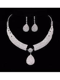 bridesmaid statement necklaces wedding jewellery set statement necklaces earrings sets for bridal