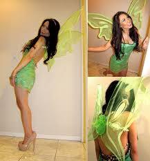 Halloween Costumes Tinkerbell Adults Kimberly Luu Bakers Heels Diy Tinkerbell Dress Diy