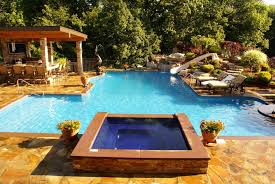 Lounge Chairs In Pool Design Ideas Swimming Pool Magnificent Pool Design Ideas With T Shape
