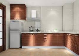 kitchen cabinet fridge kitchen decoration