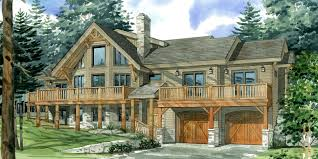 Walkout Basement Plans Timber Frame House Plans With Walkout Basement Decoration With