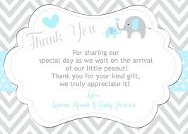 baby shower notes baby shower gift thank you note wording ideas baby shower gift ideas