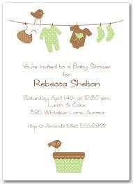 baby shower lunch invitation wording unisex baby shower invitation wording cimvitation