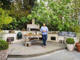 Backyard Grill Restaurant by Star Kitchen Curtis Stone U0027s Outdoor Kitchen Food Network