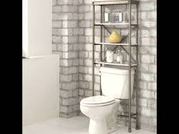 Over The Toilet Etagere The Cool Of Bathroom Space Saver Youtube