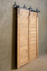 sliding barn door track and rollers bypass cabinet door hardware images doors design ideas