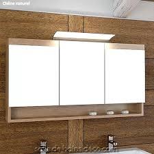 Meuble De Rangement Salle Bain Armoire 1 Miroir Armoire De Toilette 1 Porte Avec Miroir Meuble De Rangement Armoire