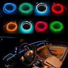 Automotive Led Light Strips Buy 5m El Decorative Strip Light Car Interior Lights Ambient