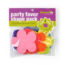 flower seed paper seed paper shape packs bloomin