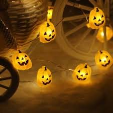 pumpkin lights string lights leorx 3 meters 40 leds pumpkin lights