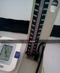 Alat Kalibrasi Tensimeter pengecekan alat pengukur tekanan darah tensimeter air raksa