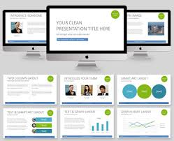 clean powerpoint template 60 beautiful premium powerpoint