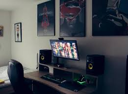 Gaming Desktop Desk by 525 Best Techno Room Images On Pinterest Pc Setup Gaming Setup