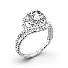 danhov engagement rings danhov ae162 abbraccio engagement ring whiteflash 4417