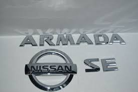nissan frontier emblem used nissan mouldings u0026 trim for sale page 22
