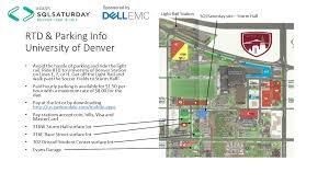 Denver Rtd Map Sqlsaturday 673 Denver 2017 U003e Event Home
