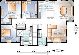 3 bedroom bungalow floor plan concise layout bedroom bungalow plans home plan bed uk one d 3