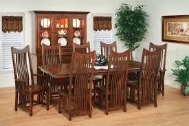 Mission Dining Room Furniture Amish Royal Mission Trestle Table