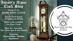 jimmy u0027s alpine clock shop riverside ca 92506 yp com