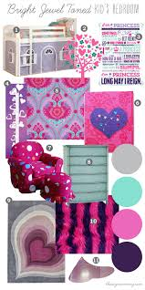 Purple Mood Mood Board Bright Jewel Toned Kid S Bedroom Our Diy House The
