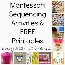 montessori inspired sequencing activities u0026 free printables klp