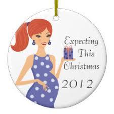 73 round pregnant ceramic christmas ornaments zazzle ca