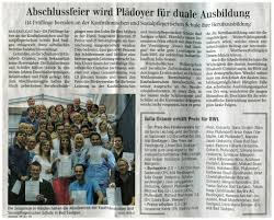Ksp Bad Saulgau Abschlussfeier Der Kaufmännischen Berufsschule 2013