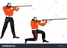 victorian time british soldiers stock vector 260365685 shutterstock
