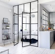 interior glass walls for homes glass bedroom wall via cocolapinedesign interiors scandi