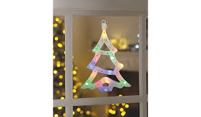 New Year Decorations Asda by Christmas Tree Light Up Window Decoration Christmas Shop George