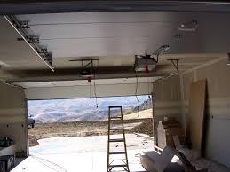garage door opener track how do i install a garage door opener with garage door opener