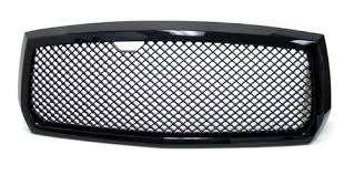 dodge dakota black grill amazon com 05 07 dodge dakota front mesh sport grille grill kit