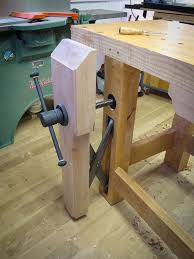Woodworking Bench Vise Installation by Benchcrafted Classic Installed Level Up Woodworking Workbench