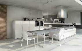 table ilot cuisine haute les cuisines haut de gamme les modèles entrée de gamme ilot