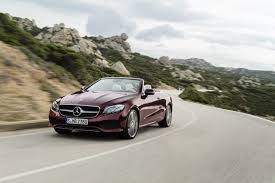 2018 mercedes e class cabriolet making us debut in new york first