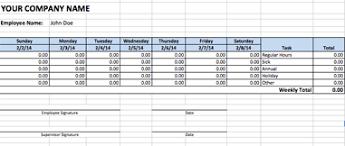 Excel Work Timesheet Template Timesheet Template Excel Program Format