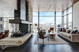 modern home interiors pearson design mountain modern