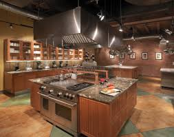 interesting kitchen island with cooktop and hood for inspiration