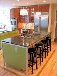 glass top kitchen island kitchen island with bar seating simple and practical solution to