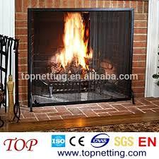mesh curtain fireplace screen fire pit black spark screens fireplace metal mesh curtain fireplace metal
