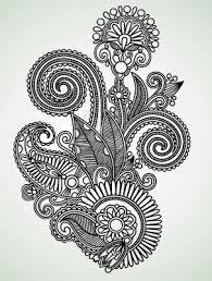 Floral Art Designs Best 25 Flower Design Drawing Ideas Only On Pinterest Pretty