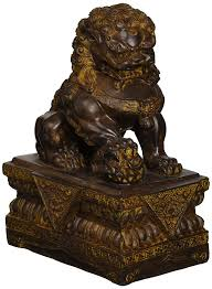 lion dog statue design toscano guardian lion foo dog
