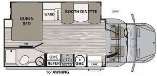 Type B Motorhome Floor Plans Dynamax Isata 3 Diesel Class C Motorhome Powerfully Compact Coach