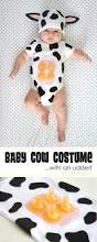 Infant Skunk Halloween Costume Simple Diy Baby Costume Udder